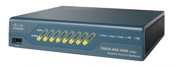 Cisco Systems ASA5505-BUN-K9 Cisco ASA 5505 1U 150Mbit/s Firewall Hardware ASA5505-BUN-K9   ASA5505-BUN-K9