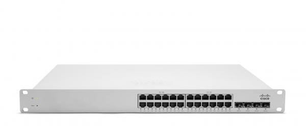 Cisco Systems Meraki MS220-24-HW Cisco MS220-24 Verwalteter Netzwerk-Switch L2 Gigabit Ethernet (10/100/1000) Weiß | MS220-24-HW